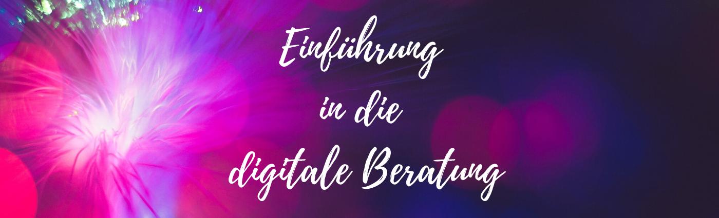 Digitale Beratung Online Beratung